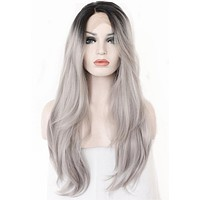 Grey Color Wig