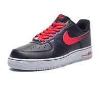 NIKE AIR FORCE 1 LOW - BLACK/RED | Undefeated