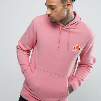 Ellesse Hoodie With Small Logo at asos.com