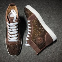 DCCK2 Cl Christian Louboutin Rythinestone Style #1922 Sneakers Fashion Shoes