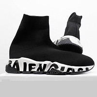 Balenciaga 2020 new high-top casual socks shoes