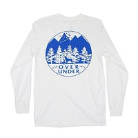 Mountain Lab Long Sleeve Tee in White by Over Under Clothing