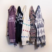 -Mystery Oversized Vintage Sweaters