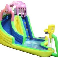 Sportcraft SpongeBob and Friends Waterslide with Sports Center