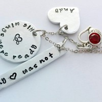 """""""His, Hers Wings Were Ready My Heart Was Not""""  Necklace by Bling Chicks"""