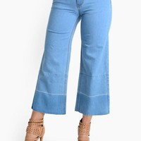 Women's Wide Denim Jeans