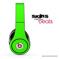 Solid Lime Green for the Beats by Dre