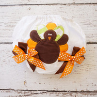 my first thanksgiving outfit, thanksgiving baby girl diaper cover, diaper cover, thanksgiving outfit, thanksgiving newborn, diaper cover