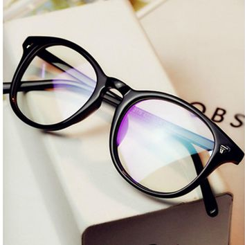 vintage Retro glasses myopia frame plain computer eyeglasses spectacle frame optical women's Men glasses oculos de grau Glasses
