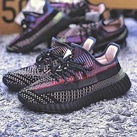Adidas 350 yeezy v2 hot sale reflective men and women sneakers Shoes