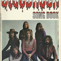 Rare Rock And Roll Songbook, Bloodrock Song Book, , Contains Music For D.O.A,, Early 1970's, By This Rock Band, Hippie Era