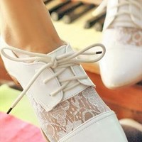 Vintage White Shoes from BAIANSY