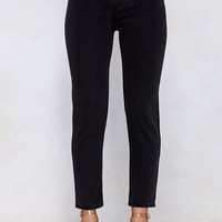Out of Pocket High-Waisted Jeans