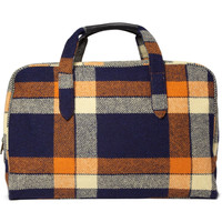 A.P.C. Plaid Weekend Bag | MR PORTER