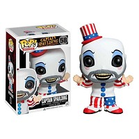 Funko Pop Movies!! Captain Spaulding 58# Action Toy Figures Anime Model Doll PVC Collection Toys For Children Birthday Gifts