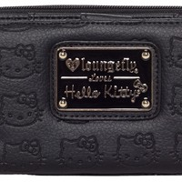 HELLO KITTY EMBOSSED WALLET