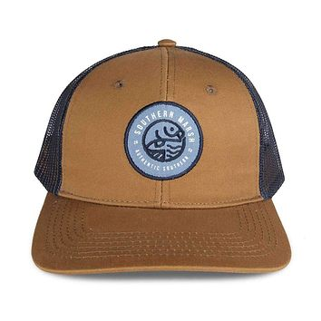 Circle Catch Trucker Hat by Southern Marsh