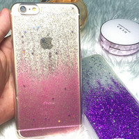 Jelly Glitter Iphone 6 6S Plus Cases