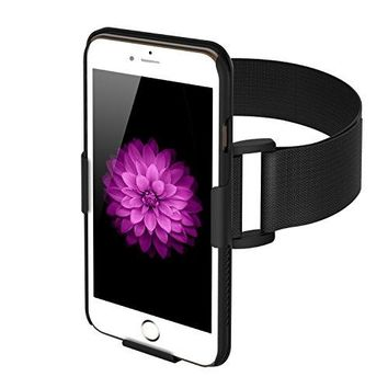 FRiEQ Armband with case for iPhone 6 Plus - Lightweight and Fully Adjustable - Ideal for Workout, Hiking, Jogging, Gym, Running or Other Sports