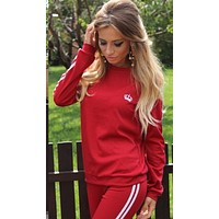 fhotwinter19 Explosive Hot Fashion Sexy Casual Sports Suit