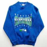 1994 NFL Seattle Seahawks Crewneck Sweatshirt