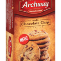Archway Chocolate Lovers Soft Chocolate Chip Cookies, 9 oz (1 box)