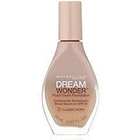 3 Pack- Maybelline Dream Wonder Fluid-Touch Foundation #20 Classic Ivory