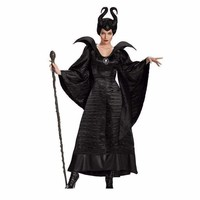 Black Queen Maleficent Halloween Costume Party For Women