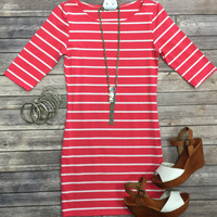 On the Docks Dress: Coral
