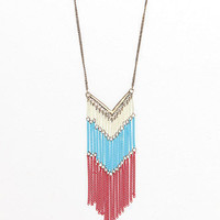 With Love From CA Red White Blue Necklace at PacSun.com