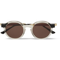 Thierry Lasry - Sobriety 995 Gold-Tone and Acetate Sunglasses | MR PORTER