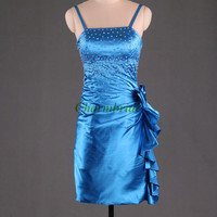 short satin prom dresses with sequins unique slim dress for party beaded party dress cheap homecoming gowns strapless dress for prom