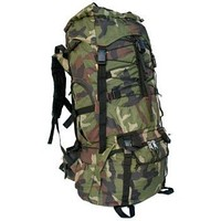 Army Style Outdoor Waterproof Camping Backpack