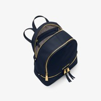Rhea Medium Quilted-Leather Backpack | Michael Kors