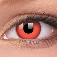 Red Contact Lenses, Red Devil Contacts   EyesBright.com