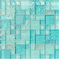 Bahamas Aqua Mix Pool tile