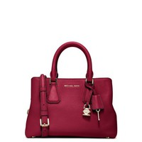 Camille Small Leather Satchel | Michael Kors