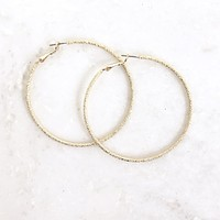 PYT Gold Hoop Earrings