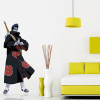Kisame Decal - Hero Printed and Die-Cut Vinyl Apply in any Flat Surface - Hoshigaki Kisame - Naruto Shippuden Wall Decal Sticker