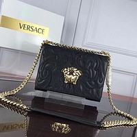 Versace Women Leather Shoulder Bags Satchel Tote Bag Handbag Shopping Leather Tote Crossbody-43