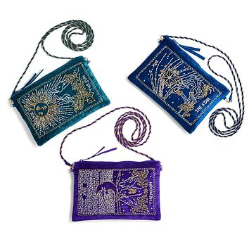 Tarot Embroidered Bag