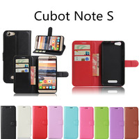 Hot Selling Cubot Note S Case Wallet Style PU Leather Case For Cubot Note S with Stand Function and Card Holder