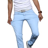 Casual Stretch Skinny Jeans Trousers