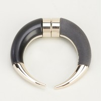 GIVENCHY curved horn earring