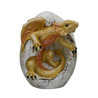Yellow Dragon Hatchling Dragon Egg Collection By Pacific Giftware