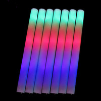 Lowest Price Light Up Multi Color LED Foam Stick Wands Rally Rave Cheer Batons Party Flashing Glow Stick Light Sticks