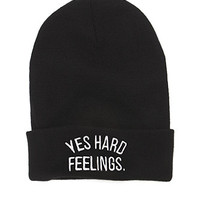 Young & Reckless Yes Hard Feelings Beanie at PacSun.com