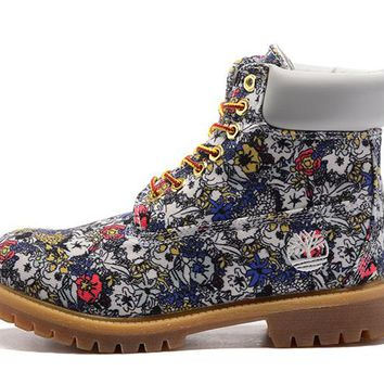 Timberland Women Basic White flower waterproof series