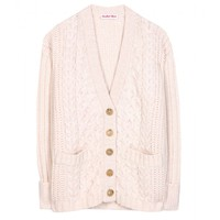see by chloé - wool and cotton-blend cardigan