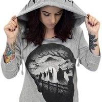 Women's Cemetary Pullover